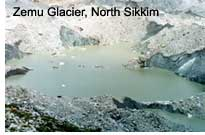 Zemu Glacier, North Sikkim